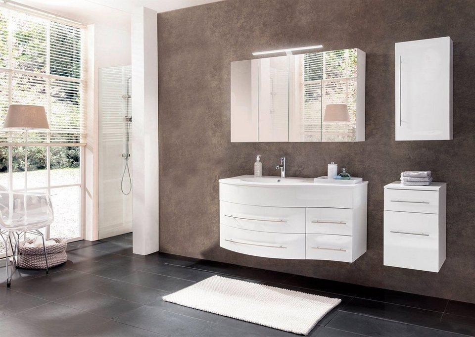 salesfever badm bel set breite 110 cm 4 tlg deborah links online kaufen otto. Black Bedroom Furniture Sets. Home Design Ideas