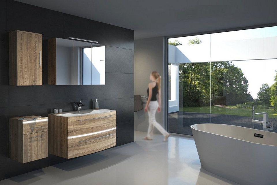 salesfever badm bel set breite 100 cm 4 tlg ranya. Black Bedroom Furniture Sets. Home Design Ideas