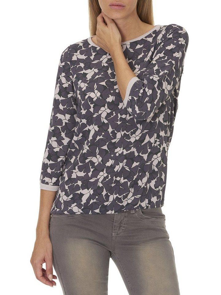 Cartoon Shirt in Violet/Grey - Violet