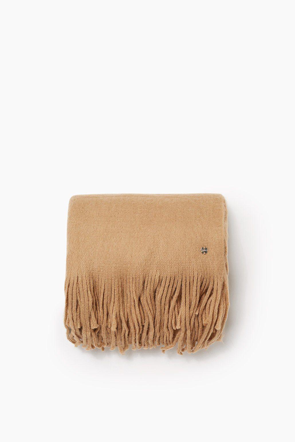 ESPRIT CASUAL Colorblock Schal aus weichem Strick