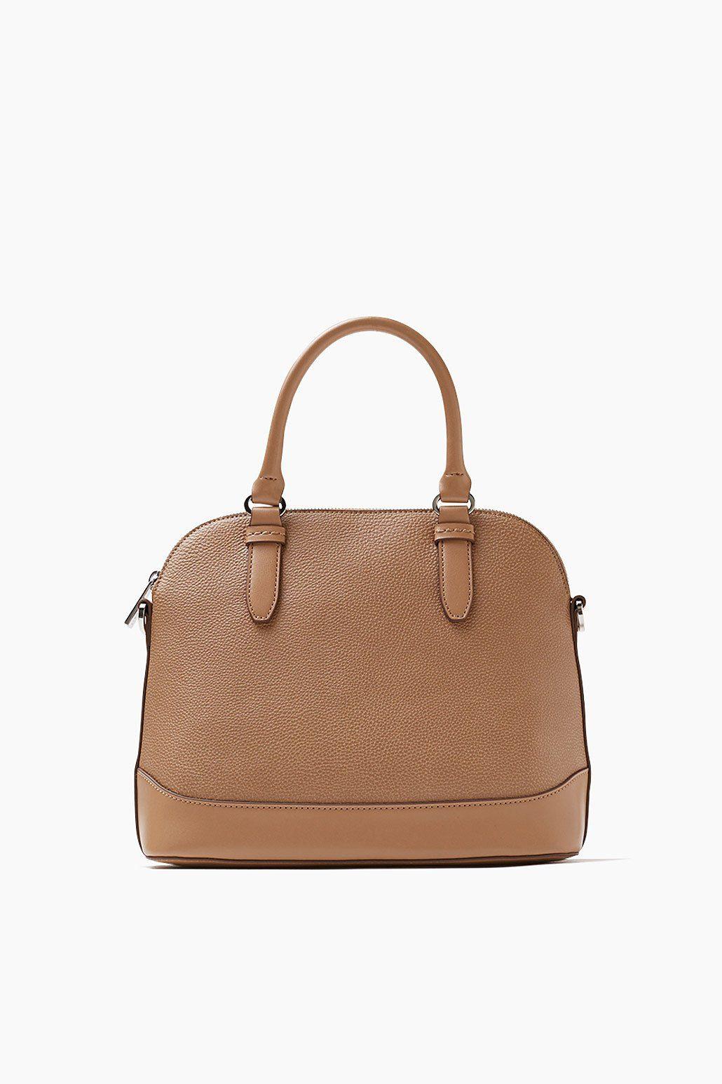 ESPRIT CASUAL Kleine City Bag in Lederoptik