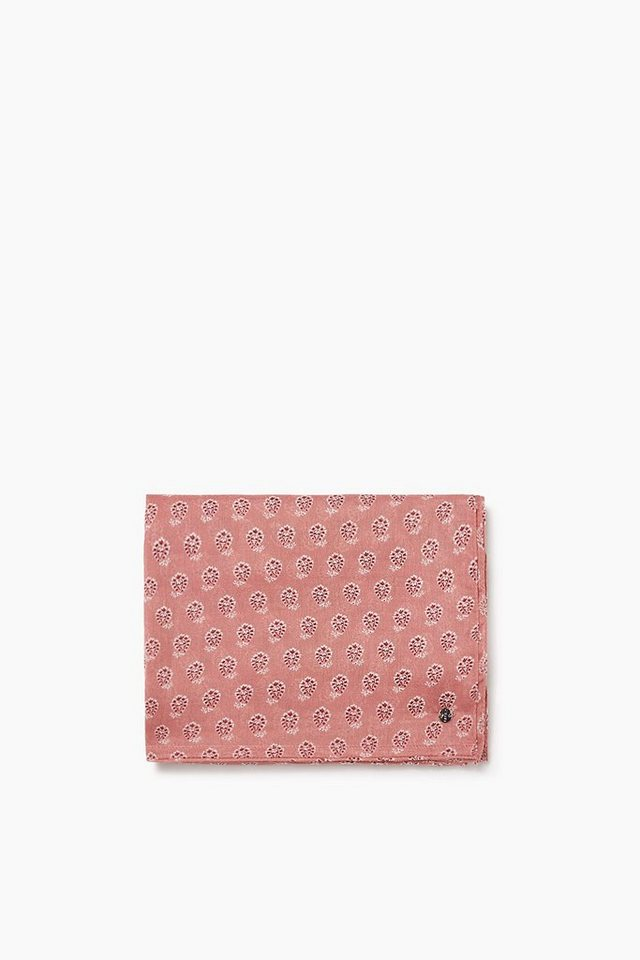 ESPRIT CASUAL Leichter Paisley Webschal in Loop-Form in BLUSH