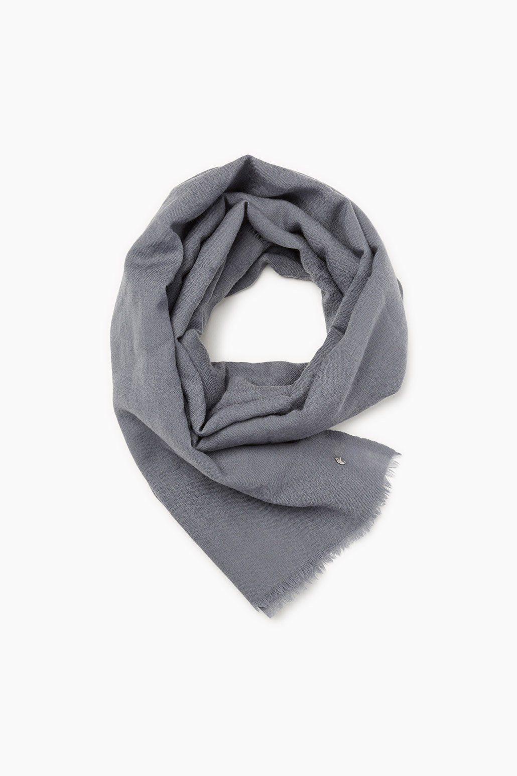 ESPRIT CASUAL Großer Schal aus leichtem Wollgewebe