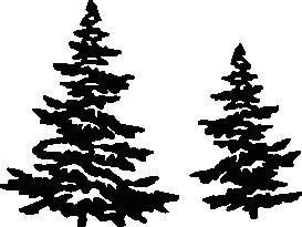 "Stanz- & Prägeschablone ""Traditional Christmas Tree"" 2 Stück"