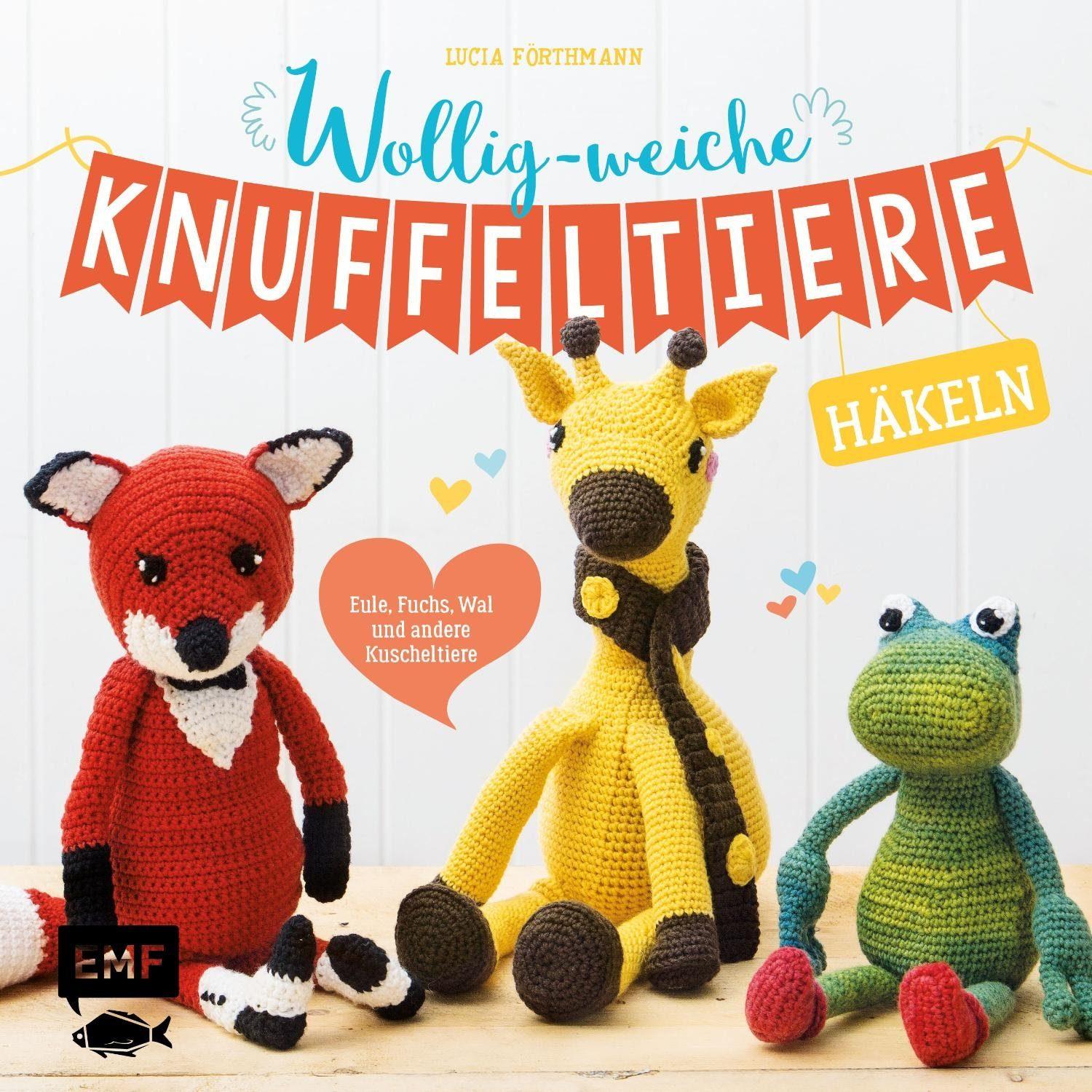 """EMF Buch """"Wollig-weiche Knuffeltiere"""" 144 Seiten"""