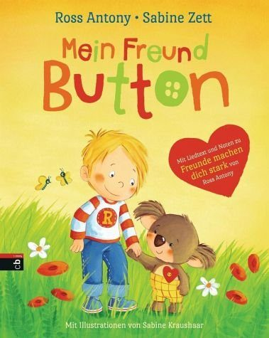 Gebundenes Buch »Mein Freund Button«