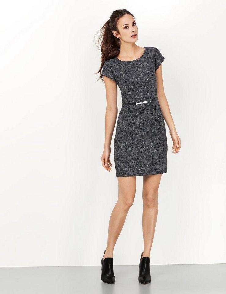 Taifun Kleid »Hochwertiges Tweed-Kleid« in Dunkel Anthrazite-Me