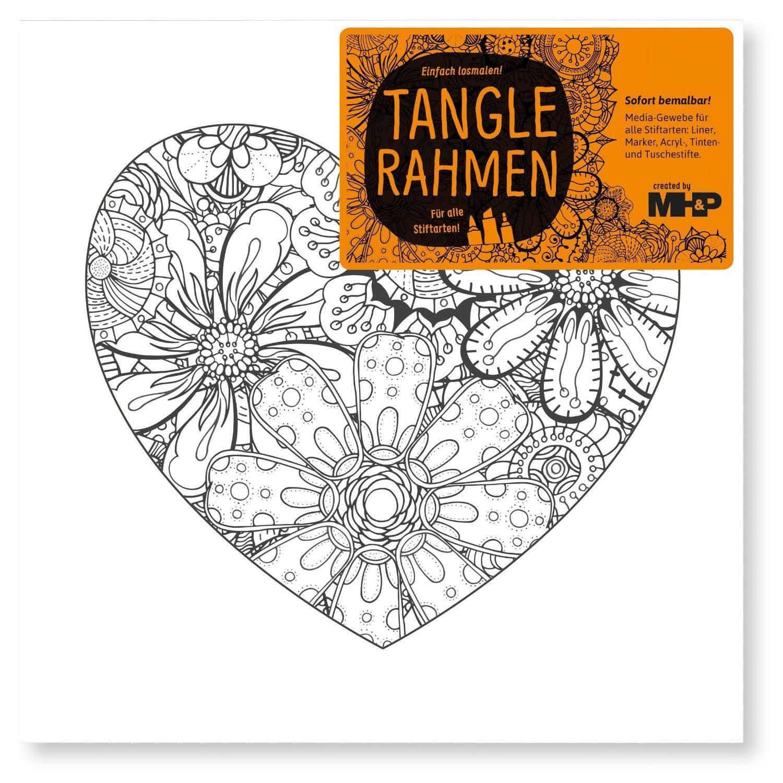 "Tangle Rahmen ""Herz"" 20 cm"