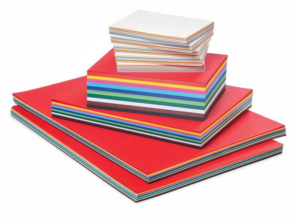 VBS Großhandelspackung 1500 Blatt Tonkarton