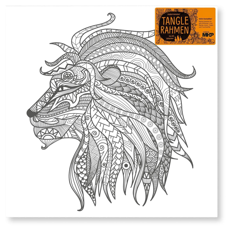 "Tangle Rahmen ""Löwe"" 40 cm"