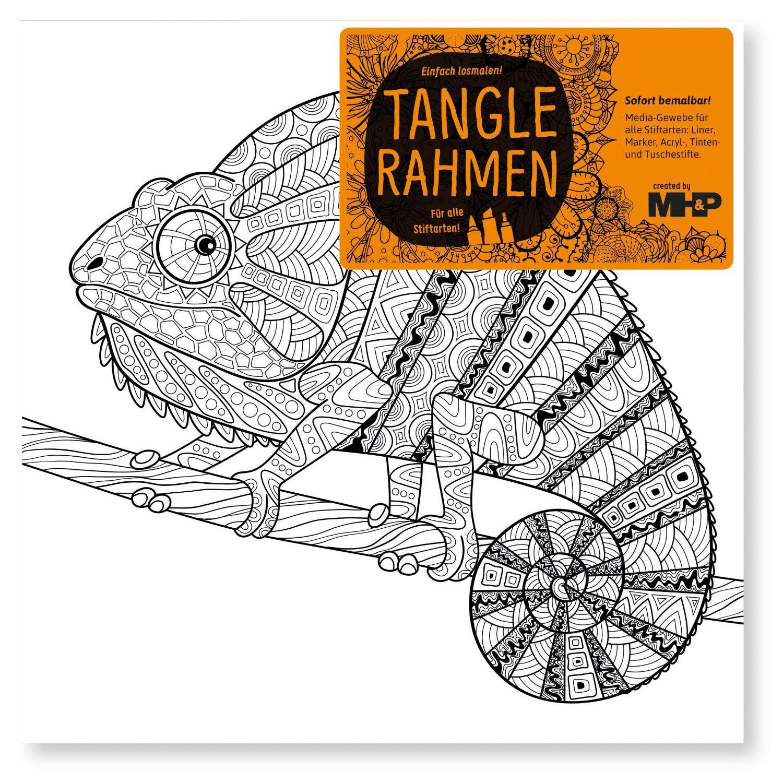 "Tangle Rahmen ""Chamäleon"" 20 cm"