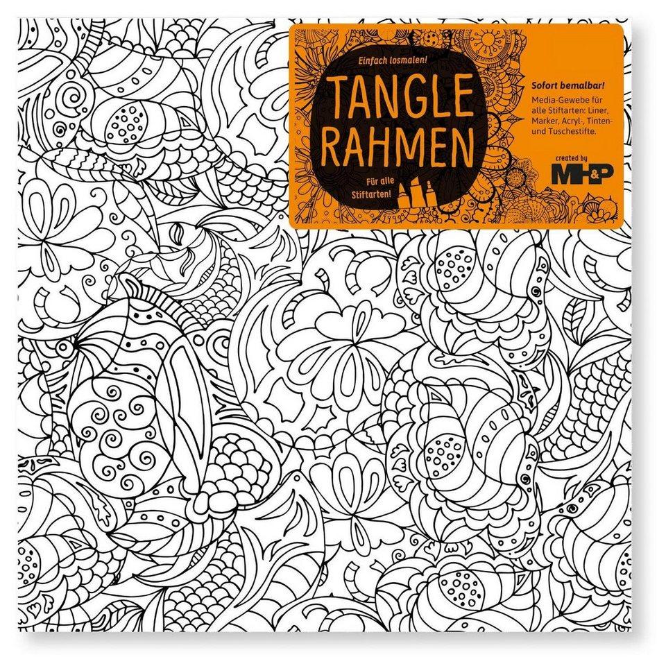 "Tangle Rahmen ""Meeresblume"" 20 cm"