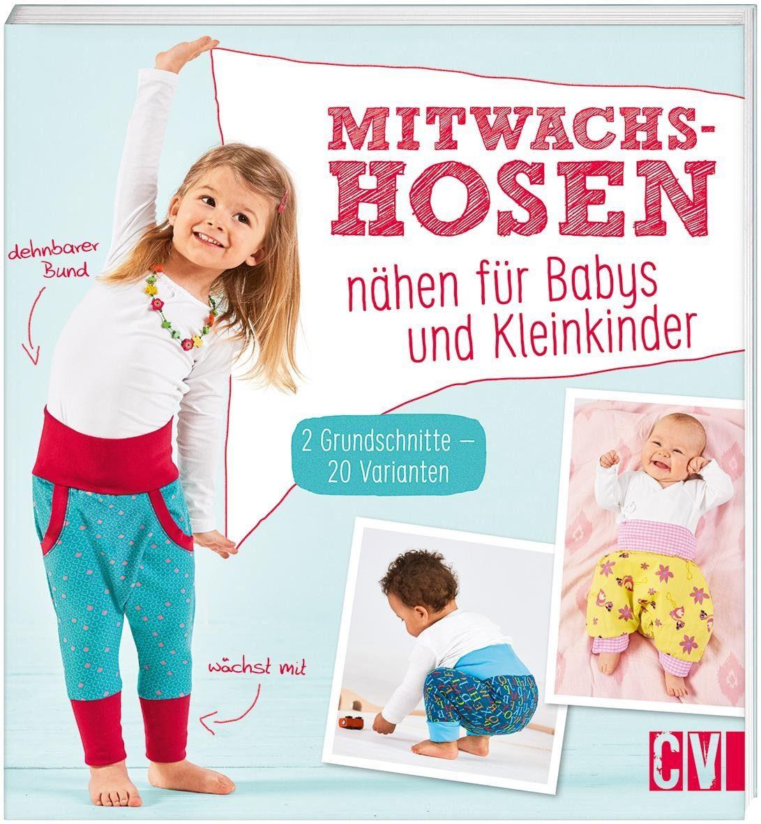 """Buch """"Mitwachshosen"""" 64 Seiten"""