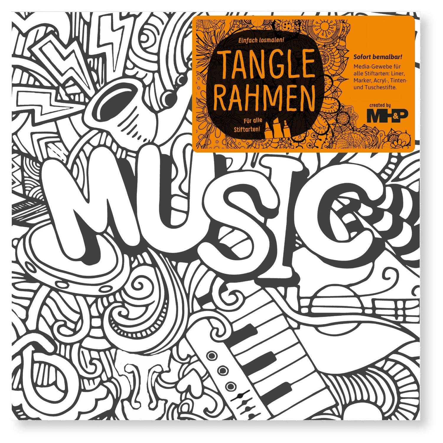 "Tangle Rahmen ""Music"" 20 cm"
