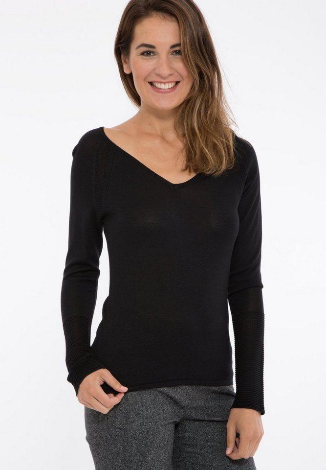Mexx Pullover in schwarz