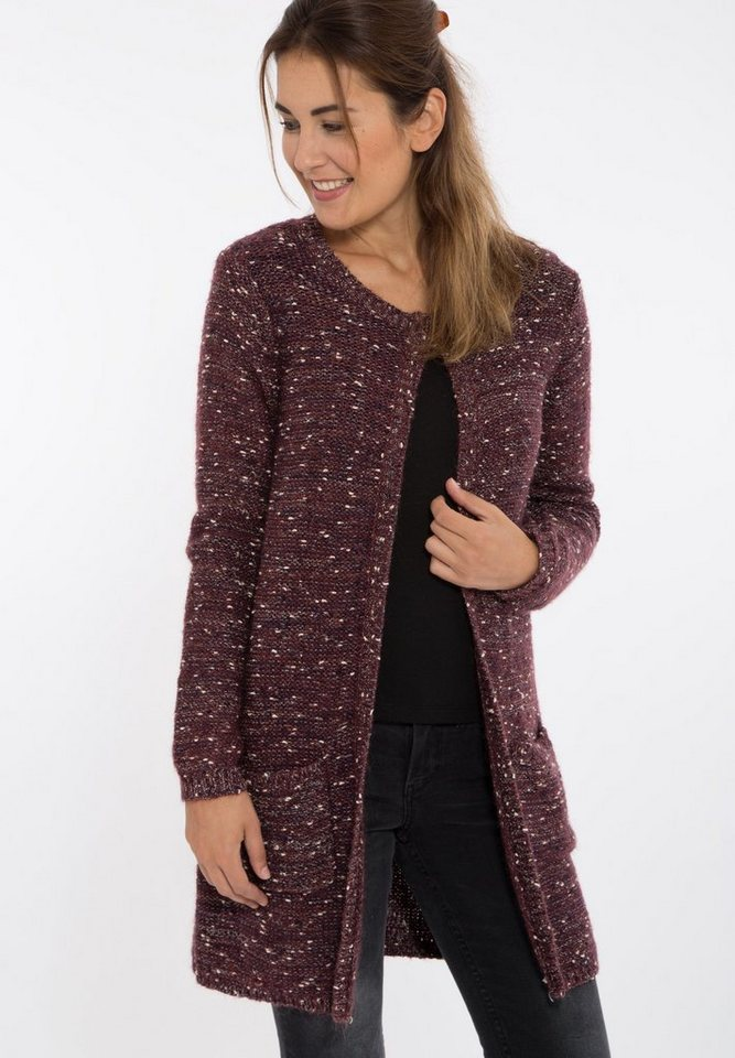 Mexx Cardigan in bordeaux