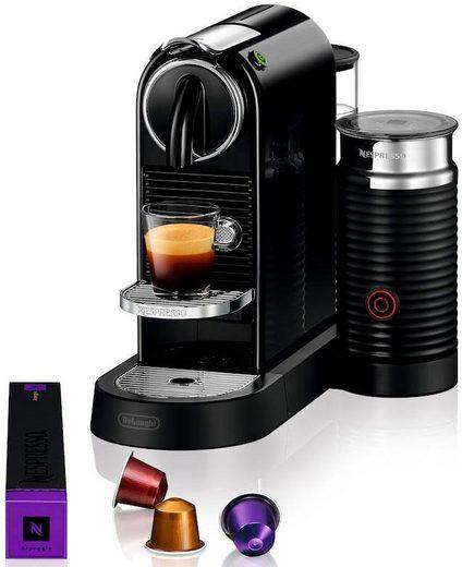 Nespresso Kapselmaschine NESPRESSO CITIZ EN 267.BAE, mit Aeroccino Milchaufschäumer