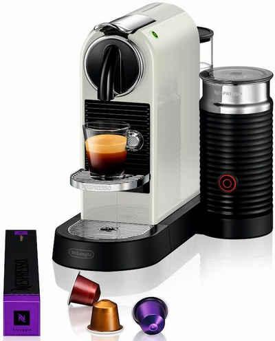 Nespresso Kapselmaschine NESPRESSO CITIZ EN 267.WAE, mit Aeroccino Milchaufschäumer