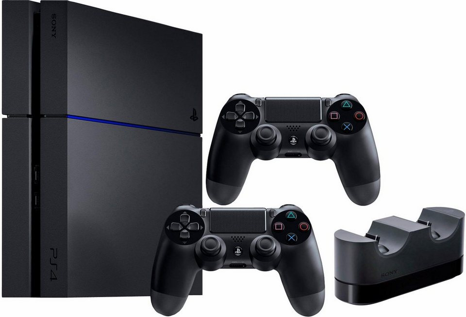 playstation 4 ps4 1tb 2 controller charger otto. Black Bedroom Furniture Sets. Home Design Ideas
