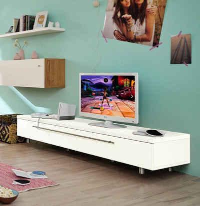 now! by hülsta TV-Board »now! time«, Breite 190 cm, mit 1,8 cm hohen Stellfüßen