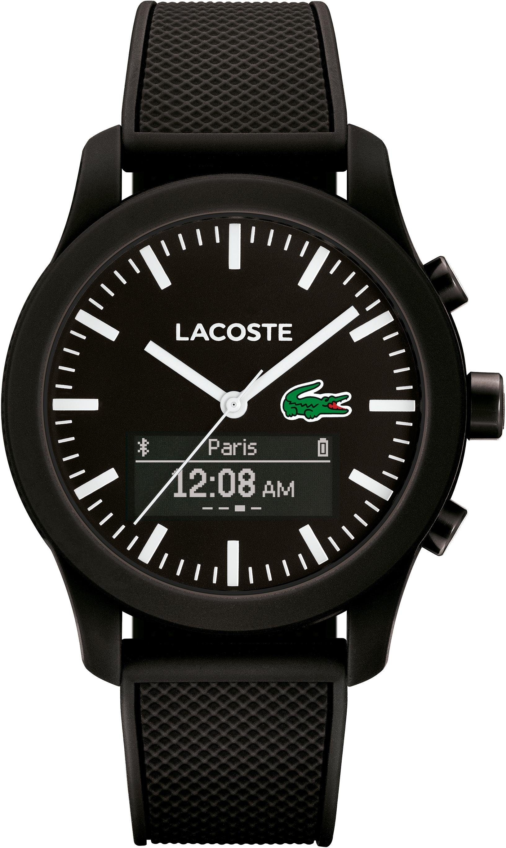 Lacoste Digitaluhr »LACOSTE.12.12 CONTACT, 2010881«