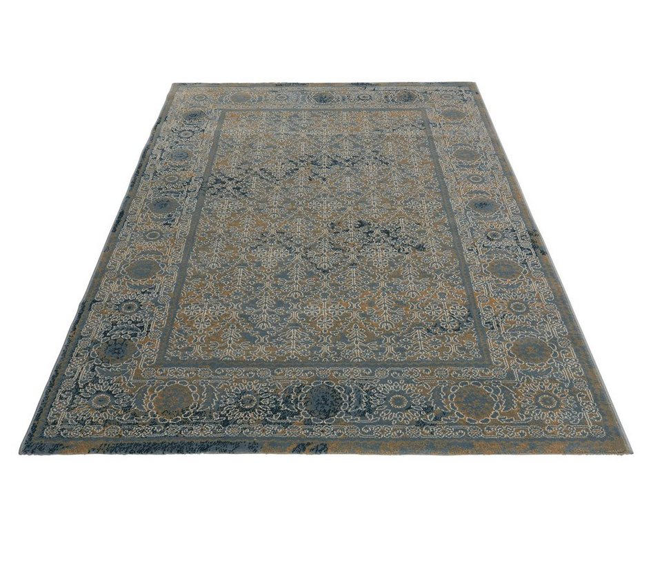 Teppich, GMK Home & Living, »Sona«, gewebt in blau