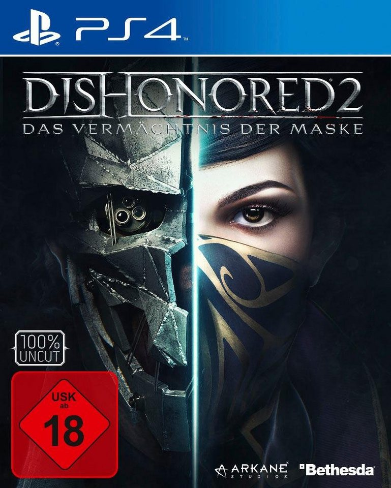 Dishonored 2: Das Vermächtnis der Maske PlayStation 4