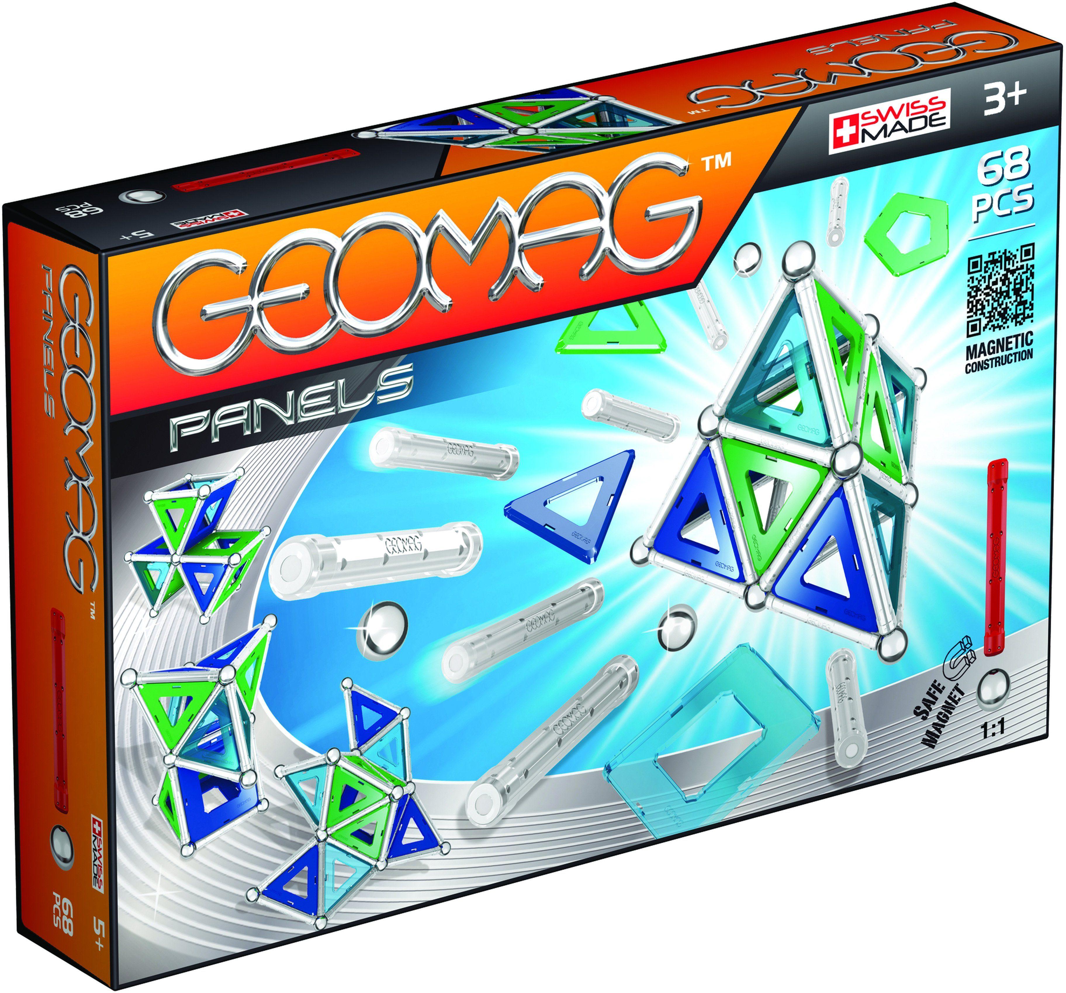 Geomag™ Konstruktionsspielzeug (68-tlg.), »Panels«