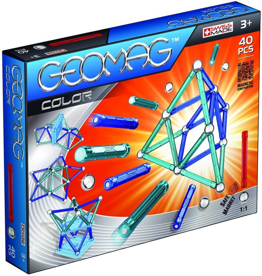 Geomag™ Konstruktionsspielzeug (40-tlg.), »Color«