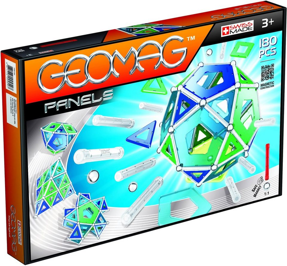 Geomag™ Konstruktionsspielzeug (180-tlg.), »Panels«