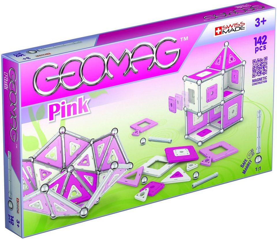 Geomag™ Konstruktionsspielzeug (142-tlg.), »Pink«