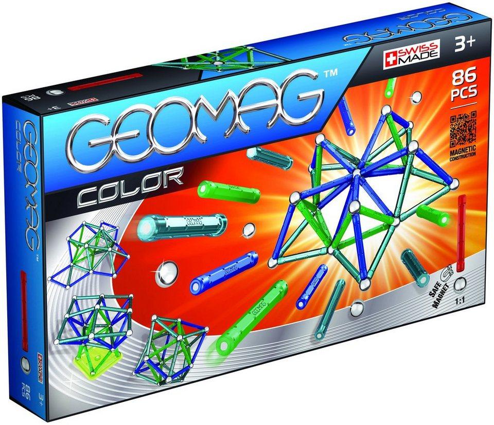 Geomag™ Konstruktionsspielzeug (86-tlg.), »Color«