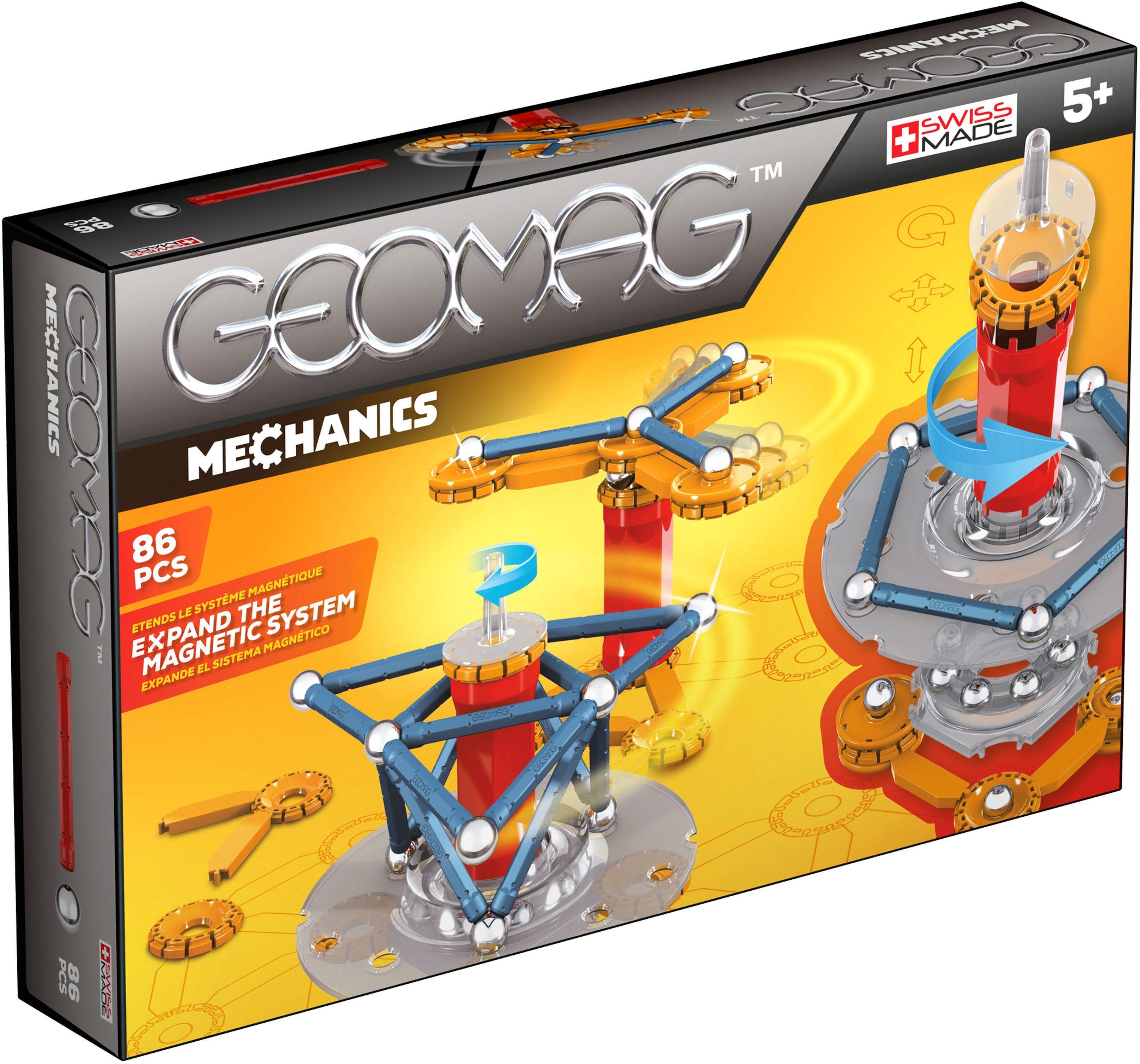 Geomag™ Konstruktionsspielzeug (86-tlg.), »Mechanics«