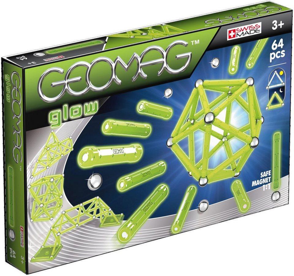 Geomag™ Konstruktionsspielzeug (64-tlg.), »Glow«
