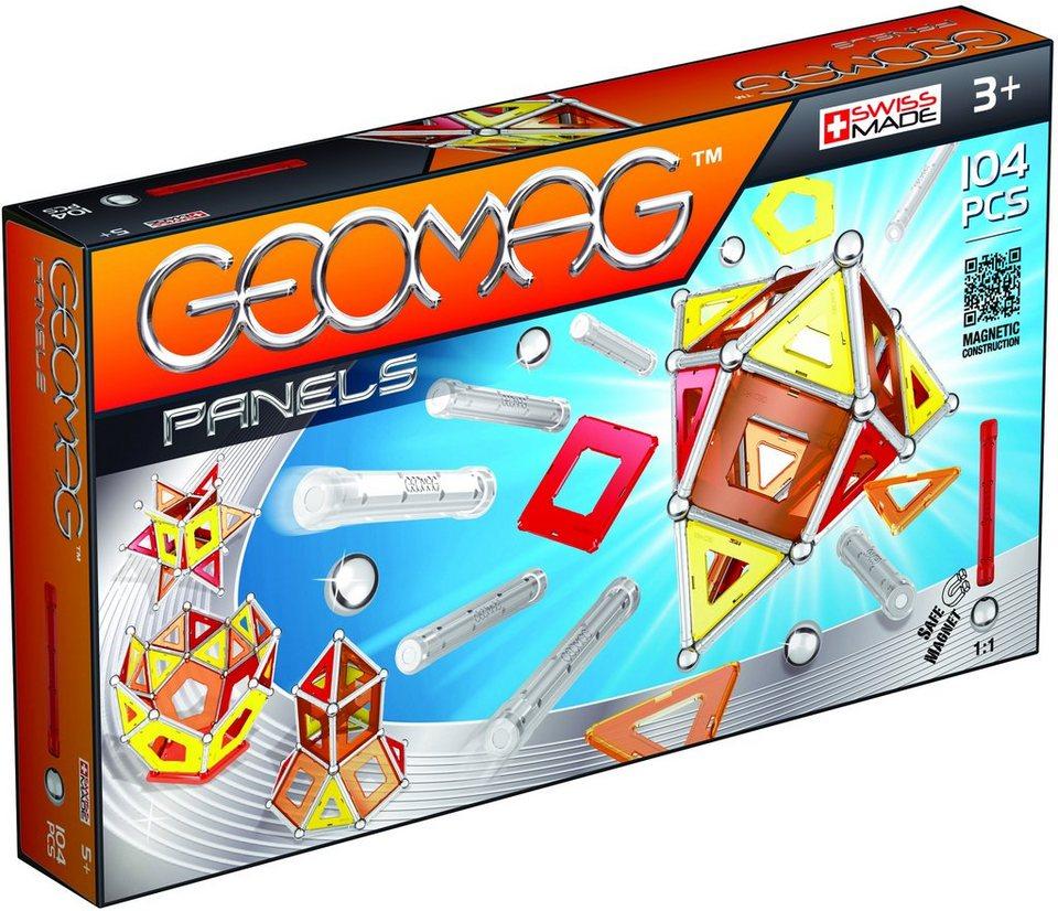 Geomag™ Konstruktionsspielzeug (104-tlg.), »Panels«