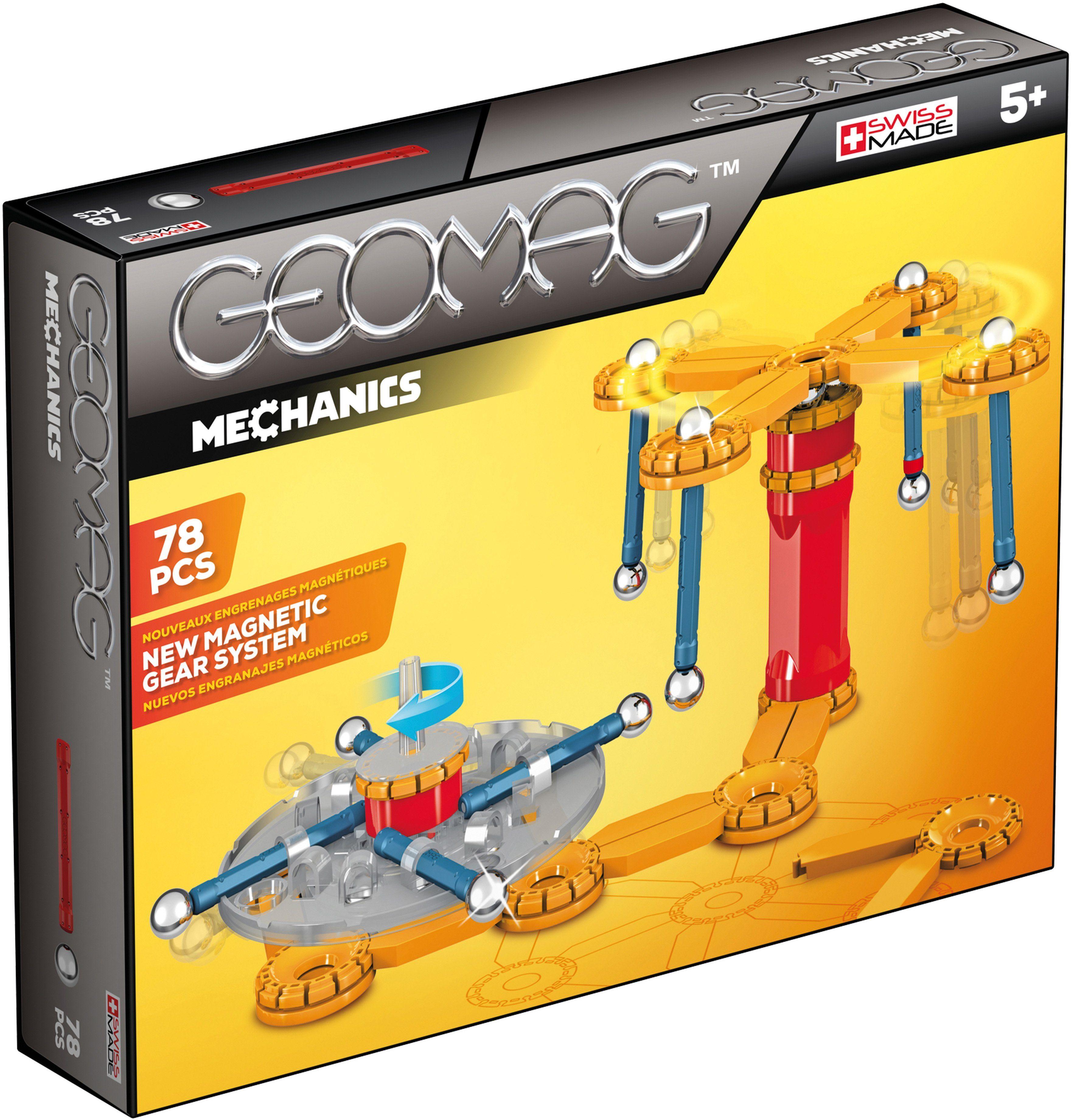 Geomag™ Konstruktionsspielzeug (78-tlg.), »Mechanics«