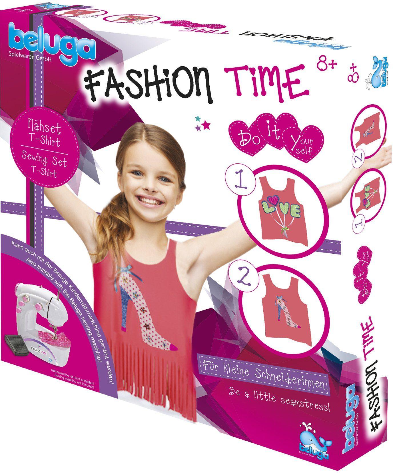 Beluga Kreativ Set, »fashion time Nähset T-Shirt«