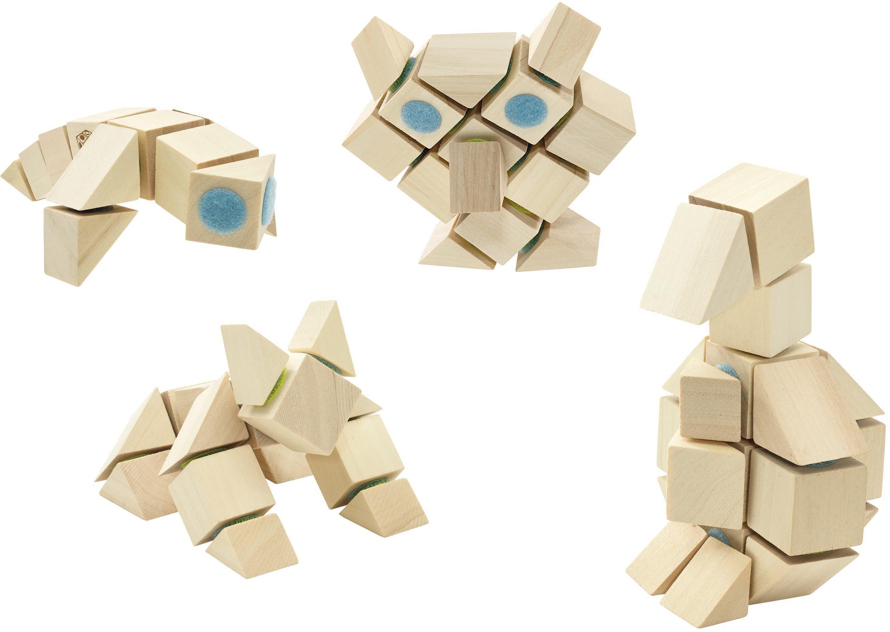Holzbausteine mit Klettverbindung, »DOCKLETS® Universal Set«