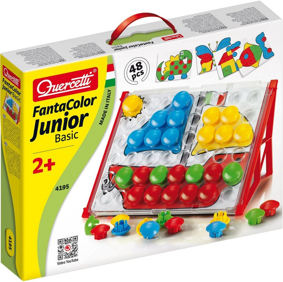 Steckspiel, »Quercetti Steckset Fanta Color Junior Basic«