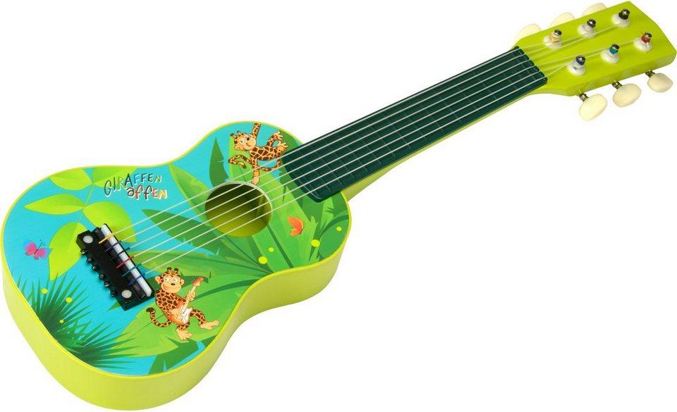beluga kindergitarre giraffenaffen gitarre klein online. Black Bedroom Furniture Sets. Home Design Ideas