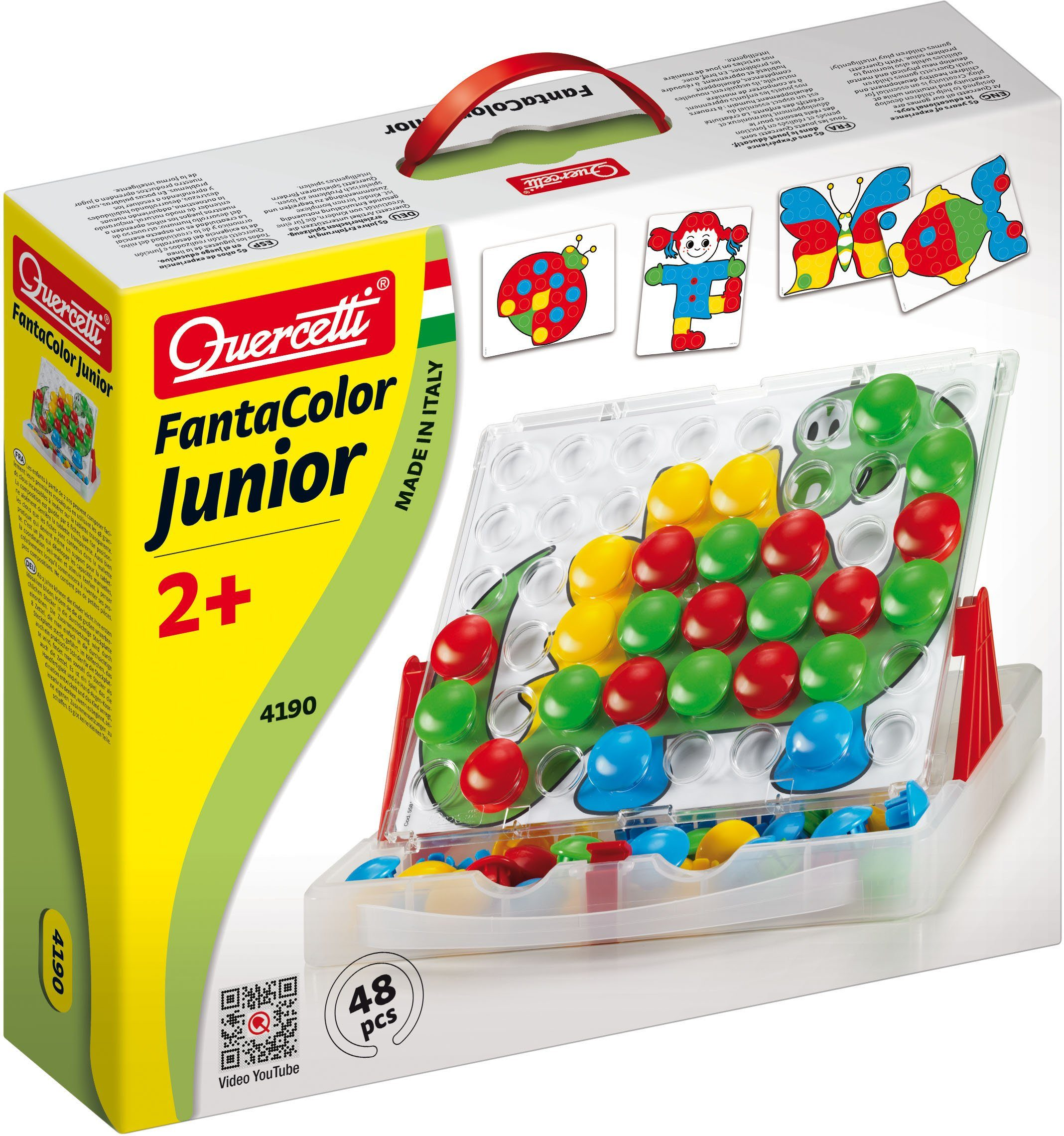 Steckspiel, »Quercetti Steckset Fanta Color Junior«