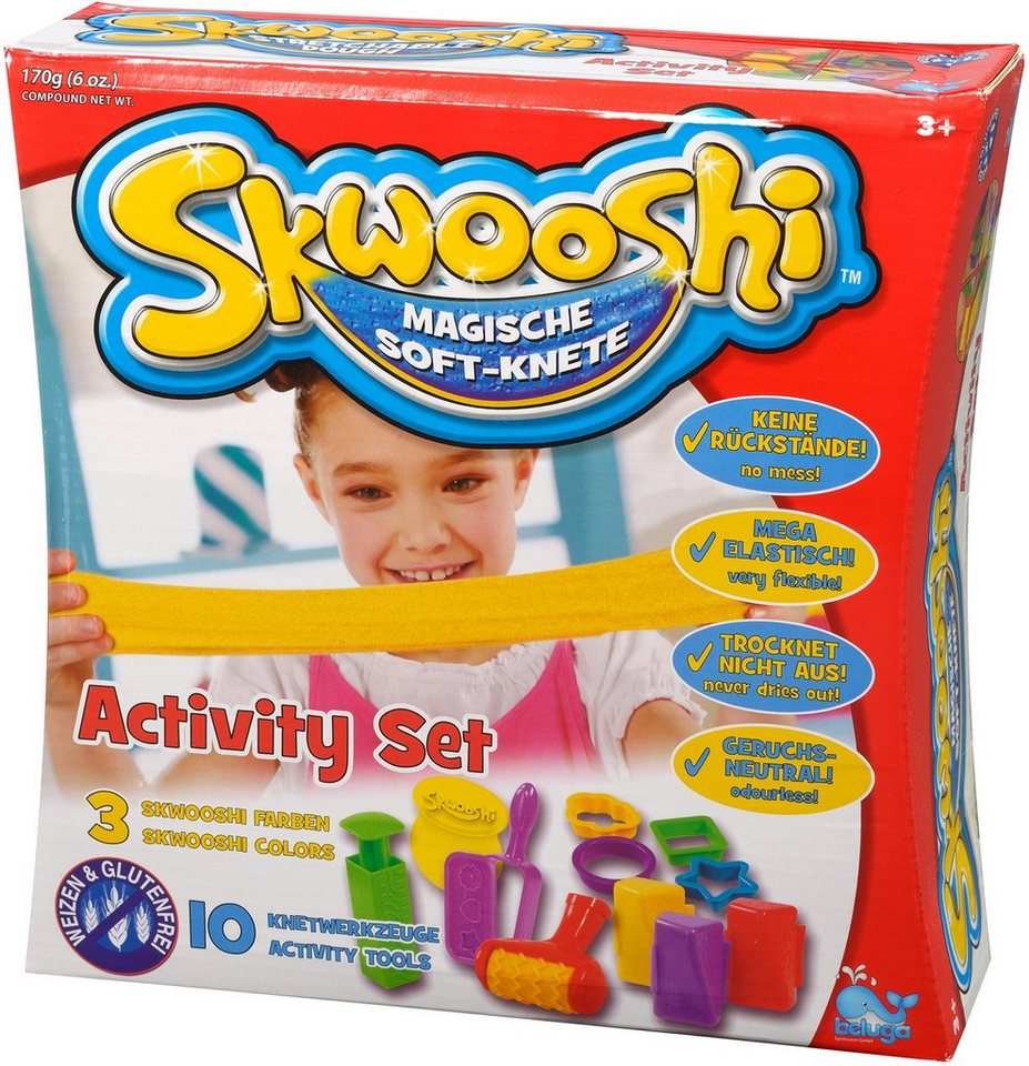 Beluga Knete, »Skwooshi™ Magische Softknete Activity Set«