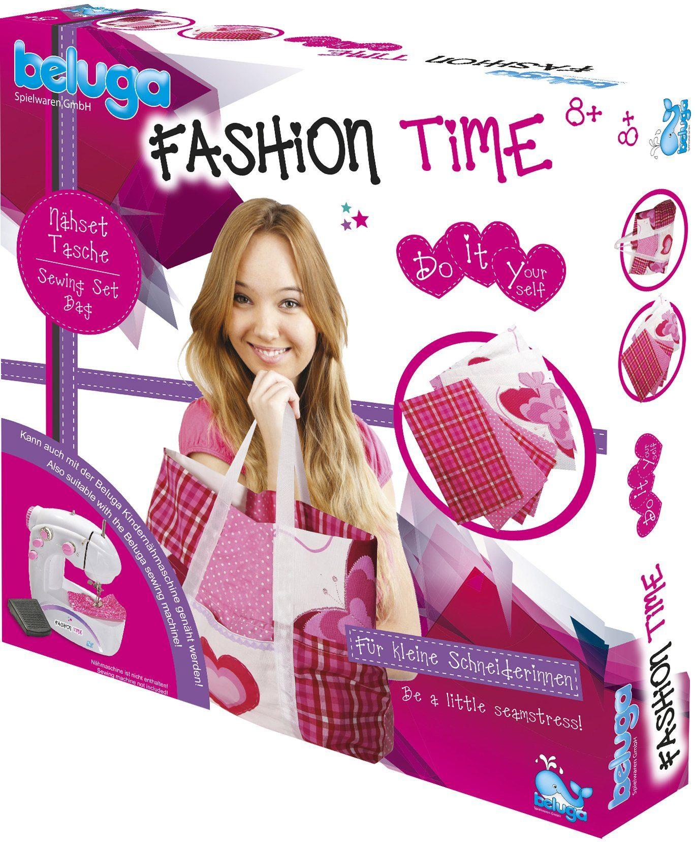 Beluga Kreativ Set, »fashion time Nähset Tasche«