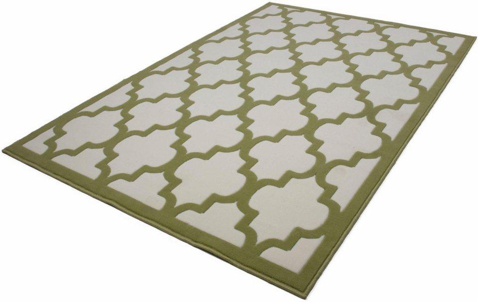 Teppich, Kayoom, »Manolya 3097«, gewebt in natur grün