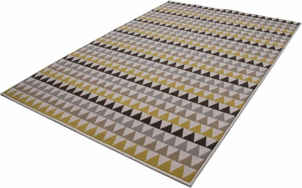 Teppich, Kayoom, »Now! 500«, gewebt in Multi/Gold