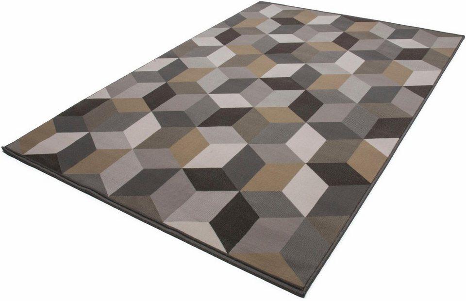 Teppich, Kayoom, »Now! 600«, gewebt in Multi/Braun