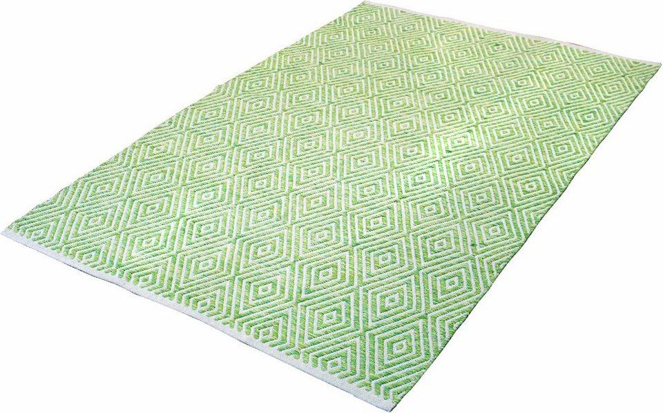 Teppich, Kayoom, »Aperitif 310«, handgewebt in grün