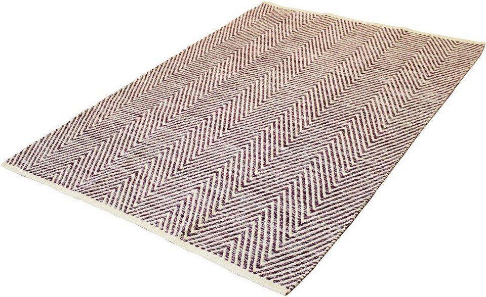 Teppich, Kayoom, »Aperitif 510«, handgewebt in lila