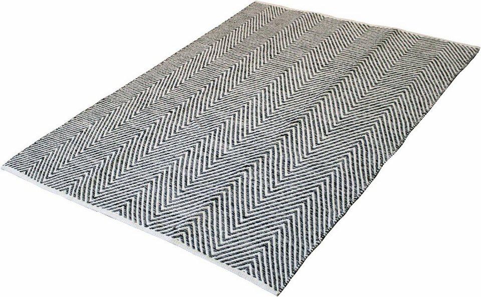 Teppich, Kayoom, »Aperitif 510«, handgewebt in grau