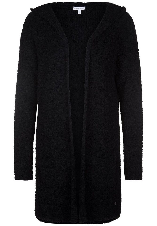 Better Rich Strickjacke »BOUCLE HOODED JACKET« in black